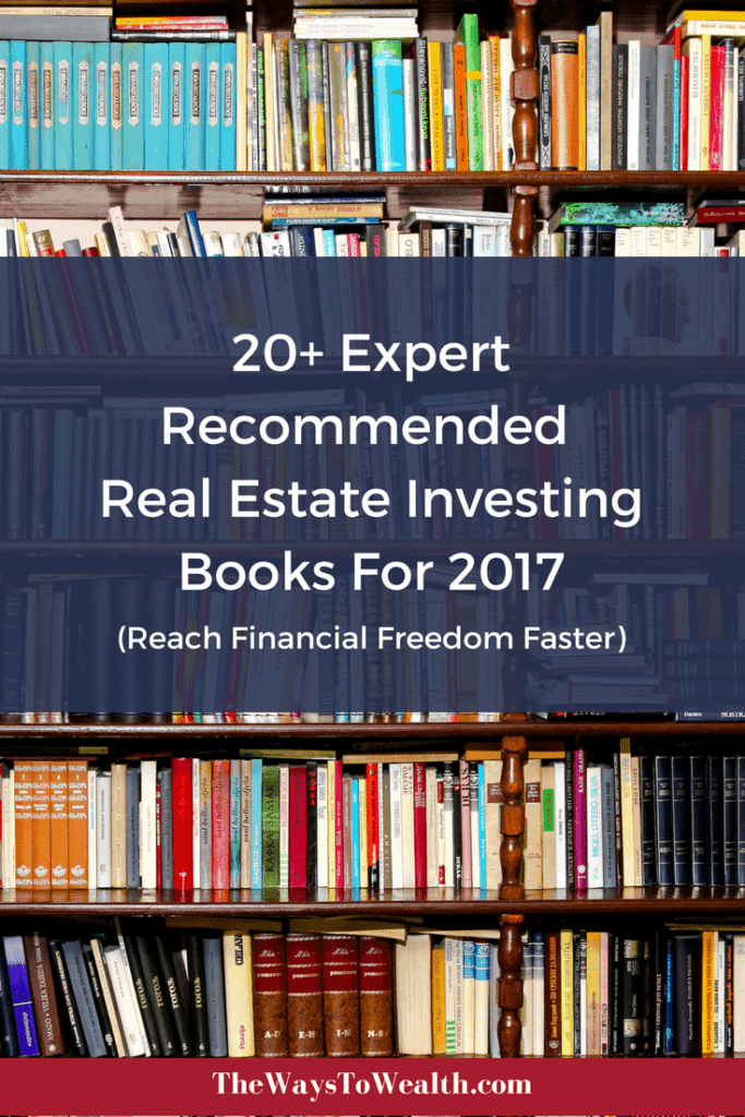 If you want to start investing investing in real estate, check out these expert recommended books
