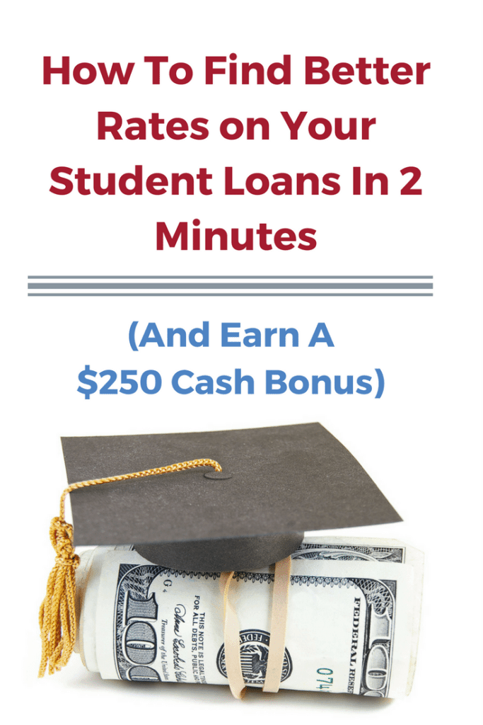 Use this free search aggregator to find lower student loan rates (without hurting your credit)