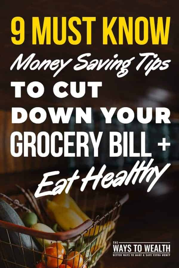 9 Must Know Money Saving Tips To Cut Down Your Gross Bill + Eat Healthy healthy eating on a budget | clean eating on a budget grocery list | tips to eating healthy #cleaneating #realfood #budget