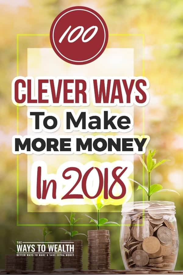 CHECK THIS OUT! 100+ Ways You Can Make Money In Your Spare Time In 2018 . A LOT of good tips, strategies, and ideas for side hustles or legit businesses. ways to make money | ideas for making money | make money tips | #makemoney #makemoneyonline #money