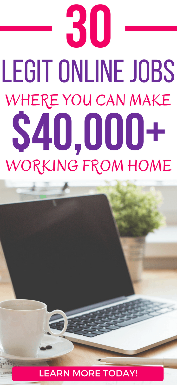 33 Legit Online Jobs Where You Can Earn Over 40 000 From Home