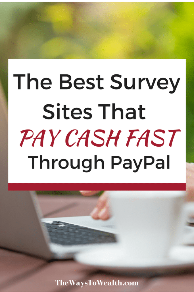 You can make extra money from home fast with these survey sites that will pay you cash for your opinion!