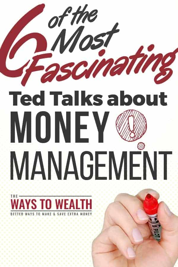 6 Of The Most Fascinating TED Talks About Money Management ted talks that will change your life | ted talks for women in 20s | ted talks to motivate | personal finance videos | money videos business ideas | ted talks that will change your life entrepreneur #thewaystowealth #tedtalks #motivation #inspiration