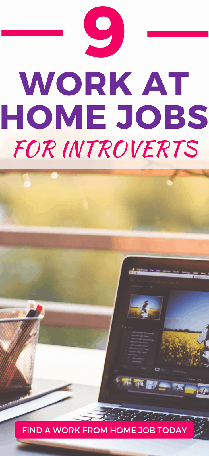 The 9 BEST Side Hustles for Introverts. Make money from your own home in solitude!extra income ideas | side hustle ideas | side income ideas | introverts |#makemoneyfromhome #workfromhome #introverted