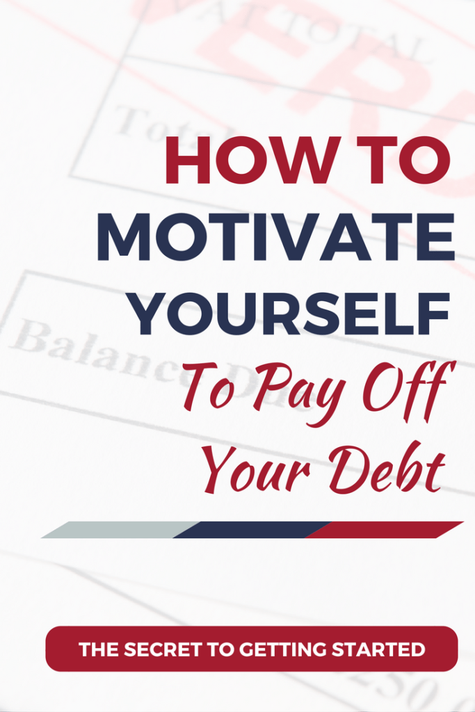 How to motivate yourself to start paying off your debt. Four Essential mindset shifts | pay off debt fast l debt free l how to pay off debt l get out of debt l credit card debt solutions l