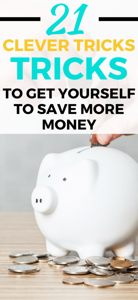 Struggling to save money? Here are 21 EASY tricks to save money without depriving yourself. Start saving more today.