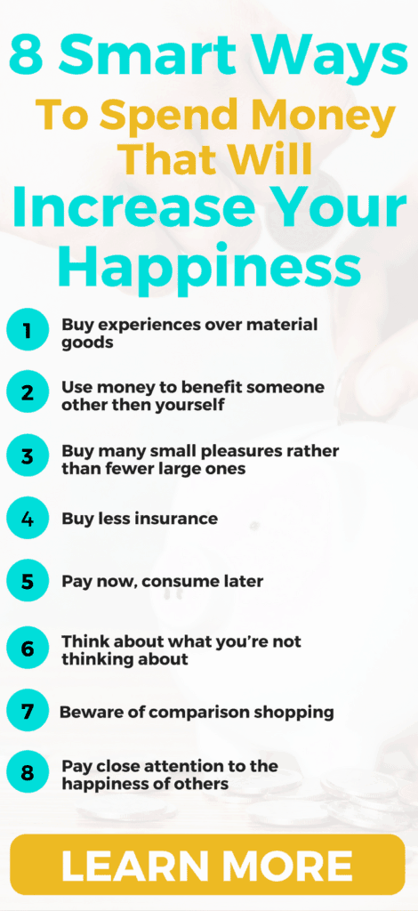 Can money buy happiness? Here's 8 researched-backed ways money can buy you happiness.