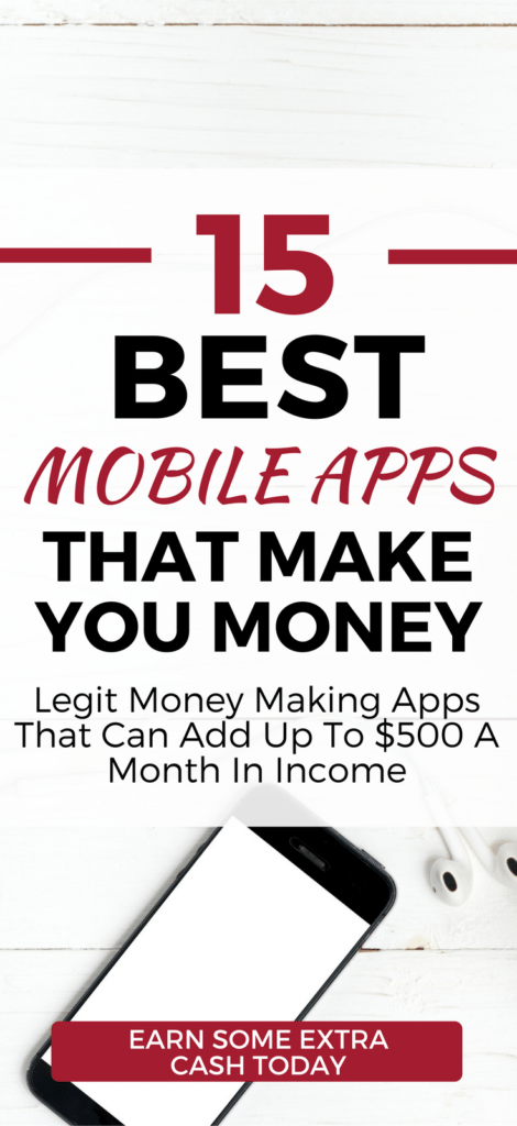 Give these 15 LEGIT Money Making Apps a try. Earn up to $500 or more a month by taking surveys, playing games, walking dogs, and more. Start making money from home with these legit side hustle ideas from your iPhone or Android phone.