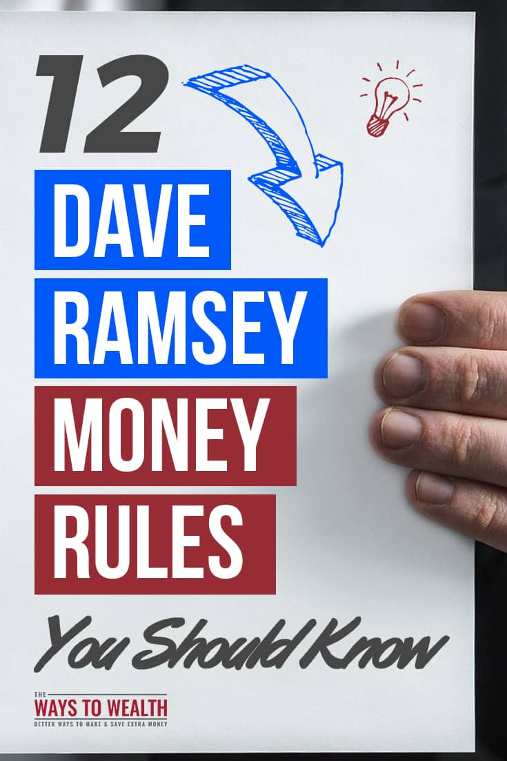 12 Dave Ramsey Money Rules You Should Knowbudgeting for beginners | getting started budgeting | investing for beginners | saving for retirement | asset allocation | buying a home first time#thewaystowealth #moneymanagement #personalfinance #money