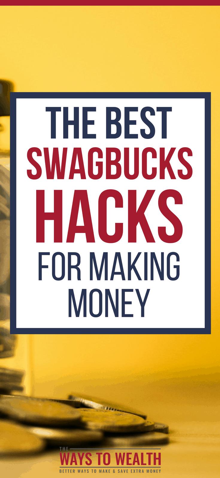Swagbucks Hacks For Making Moneyswagbucks hacks | swagbucks tips | swagbucks hacks make money | swagbucks hacks gift cards#thewaystowealth #review #makemoneyonline