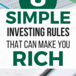 Discover the 10 SIMPLE rules for investing in the stock market. Even if you're a beginner or in your 20's, follow these tips for making money through investing. investing for beginners | investing money | investing in your 20s | investing in stocks #investment #investing #invest #investors