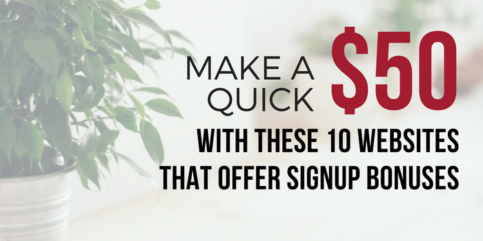 10 Legit Get Paid To Sign Up Websites: Earn $50+ Fast!