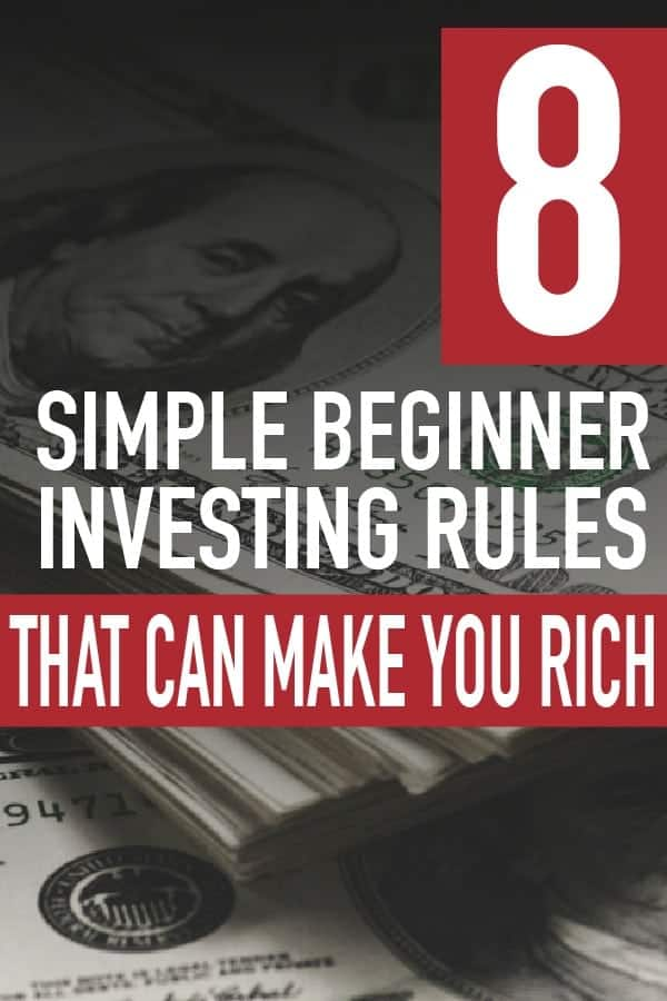 8 Simple Investing Rules That Can Make You Rich investing for beginners stock market | investing in your 20s tips | save for retirement ideas #invest #investing #money