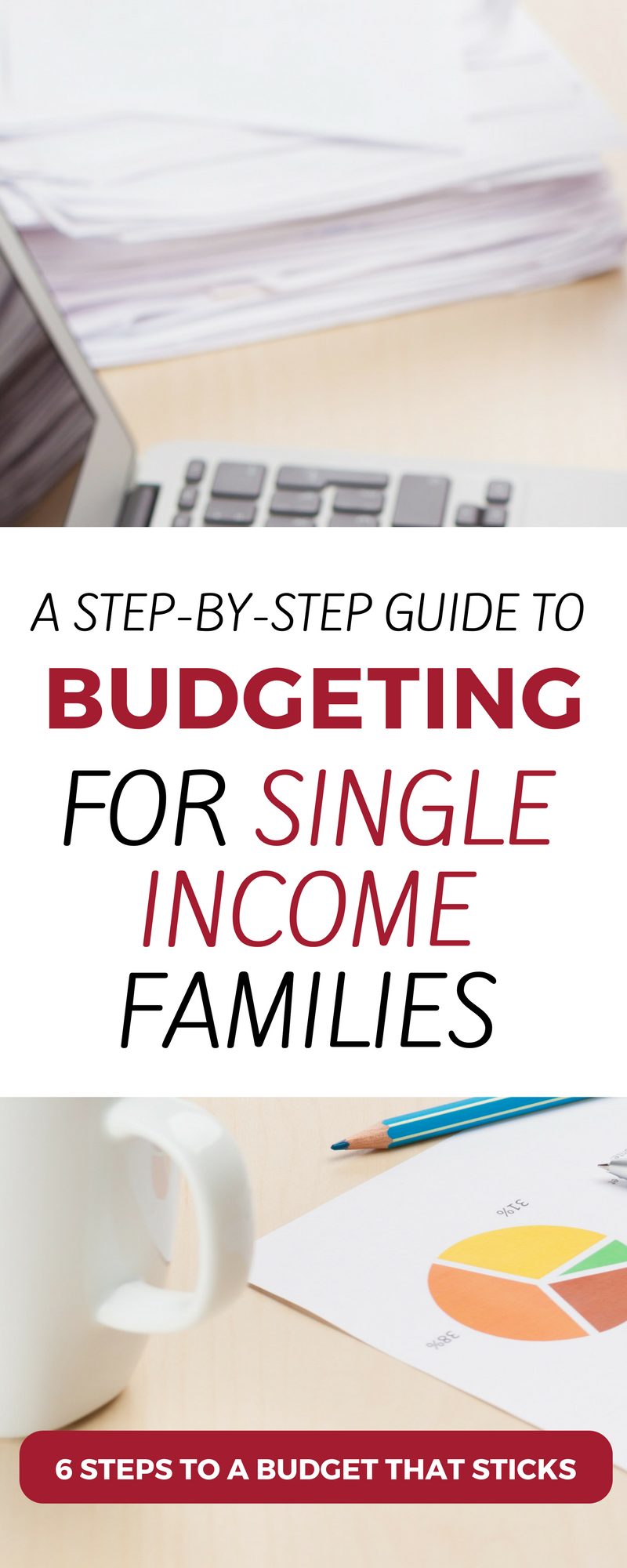 Discover the secrets to budgeting on one income. This step-by-step budgeting process for single income families can help your family live a meaningful and frugal life. budgeting for families | single income budget | single income family tips | single income budget personal finance | #budgeting #budget #money #familyfinance