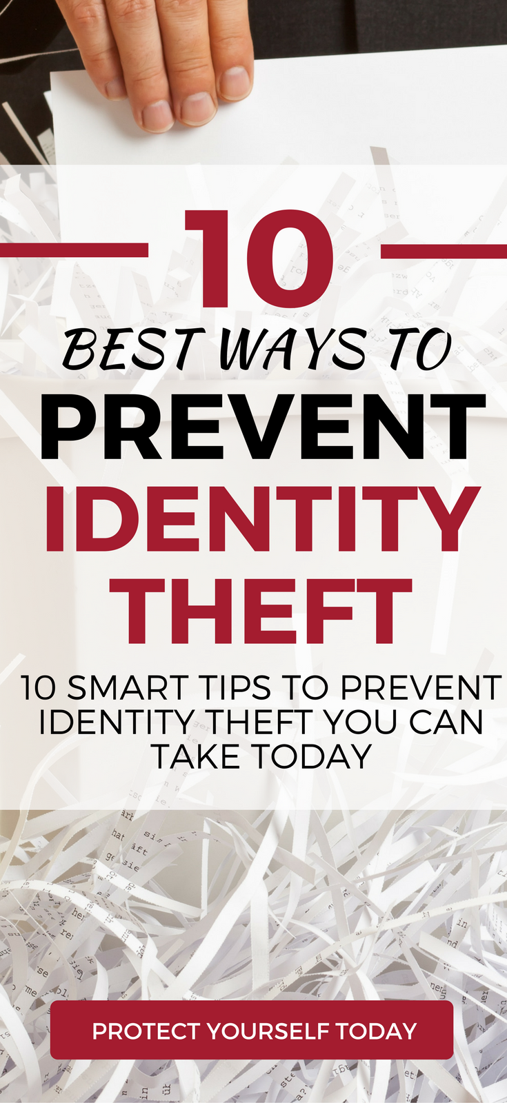 Smart tips on how to prevent identity theft. Learn ways to protect hackers from obtaining credit in your name and secure your identity online. Must know tips in the wake of the recent Equifax hack.