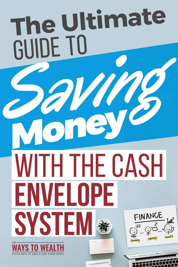 The Ultimate Guide to Saving Money with the Cash Envelope System + CASH ENVELOPE PRINTABLE budgeting tips saving money | budgeting tips for beginners | budgeting methods envelope system | cash envelope system printable diy | cash envelope wallet pattern free #thewaystowealth #budget #daveramsey #Budgeting