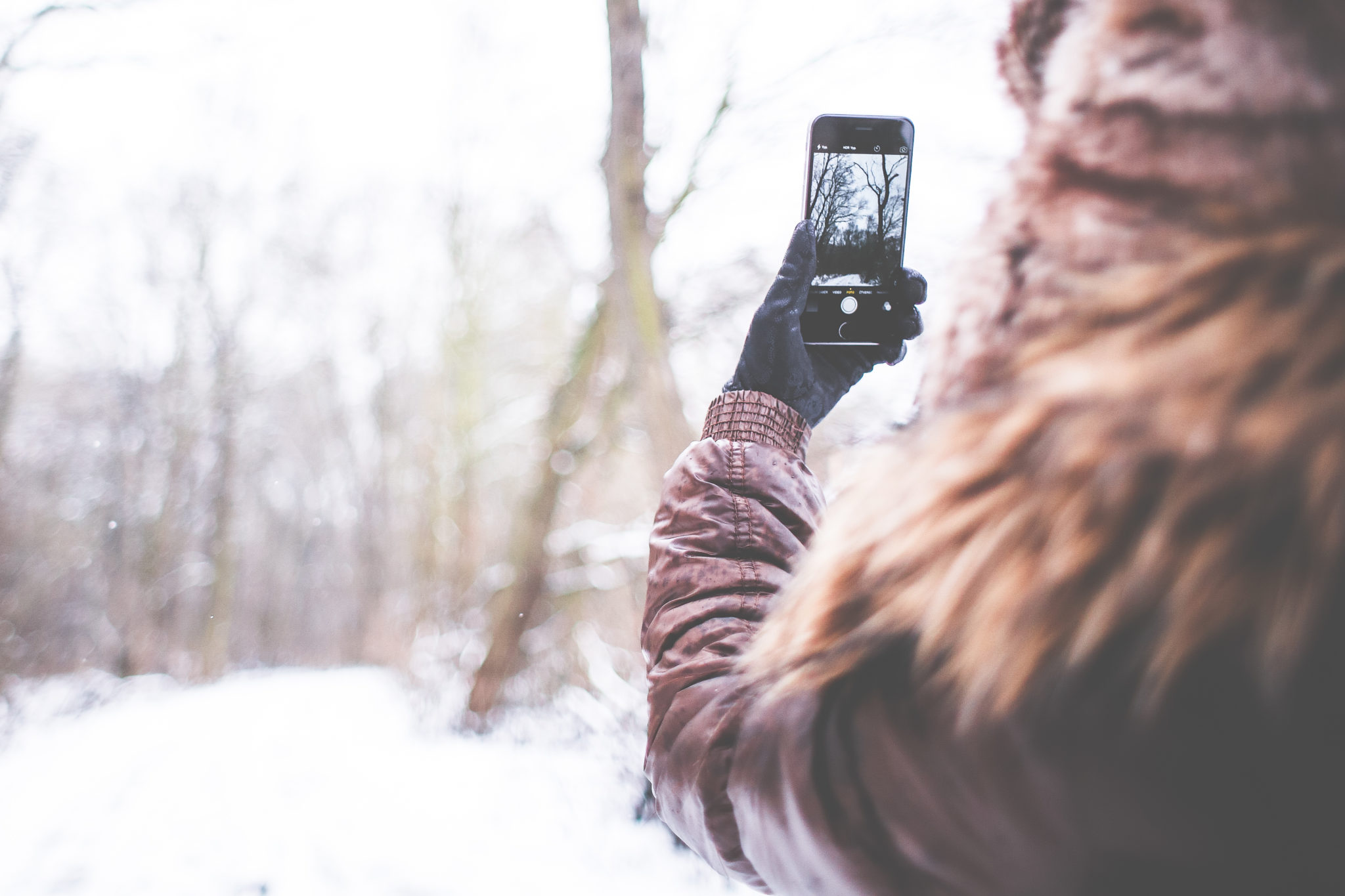 Winter Photographer Outdoors