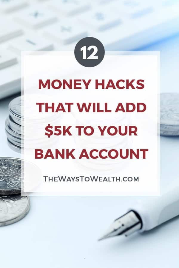 12 Money Hacks That Will Add $5K To Your Bank Account personal finance tips | money saving tips | save more spend less | how to take control of finances | organizing your finances #personalfinance #money #moneymanagement