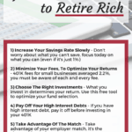 7 Surprisingly simple 401K tips you need to know to retire rich. Discover how to make your 401K grow faster. 401k tips | 401k for beginners | 401k tips retirement | investing for beginners | investing for retirement | investing in stocks #investing #moneymanagement #personalfinance #retirement