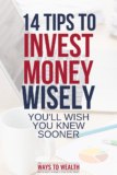 Pin: 14 Investment Tips You'll Wish You Knew Sooner