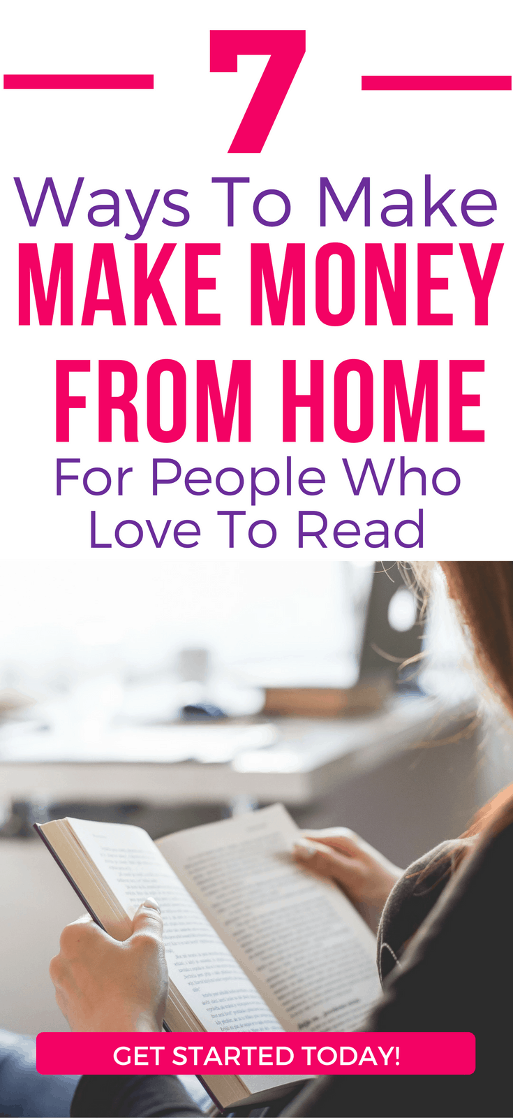 7 Ways To Make Good Money For People Who Love To Readmake more money | reading | work from home | increase your income | money making tips | money making ideas | make money online#sidehustle #reading #makemoney