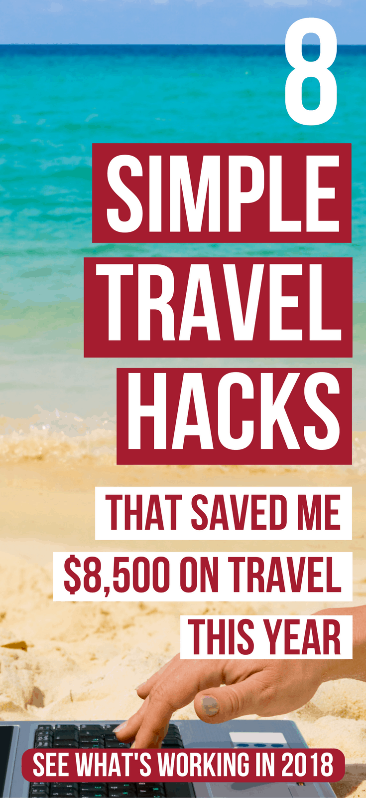 8 Travel hacks that save money. Discover 8 different ways to maximize your credit card points to travel for less (A LOT LESS). travel hacking tips | budget travel tips | budget travel ideas | save money on travel | saving money traveling | credit card points #travel #travelhacking #budgettravel