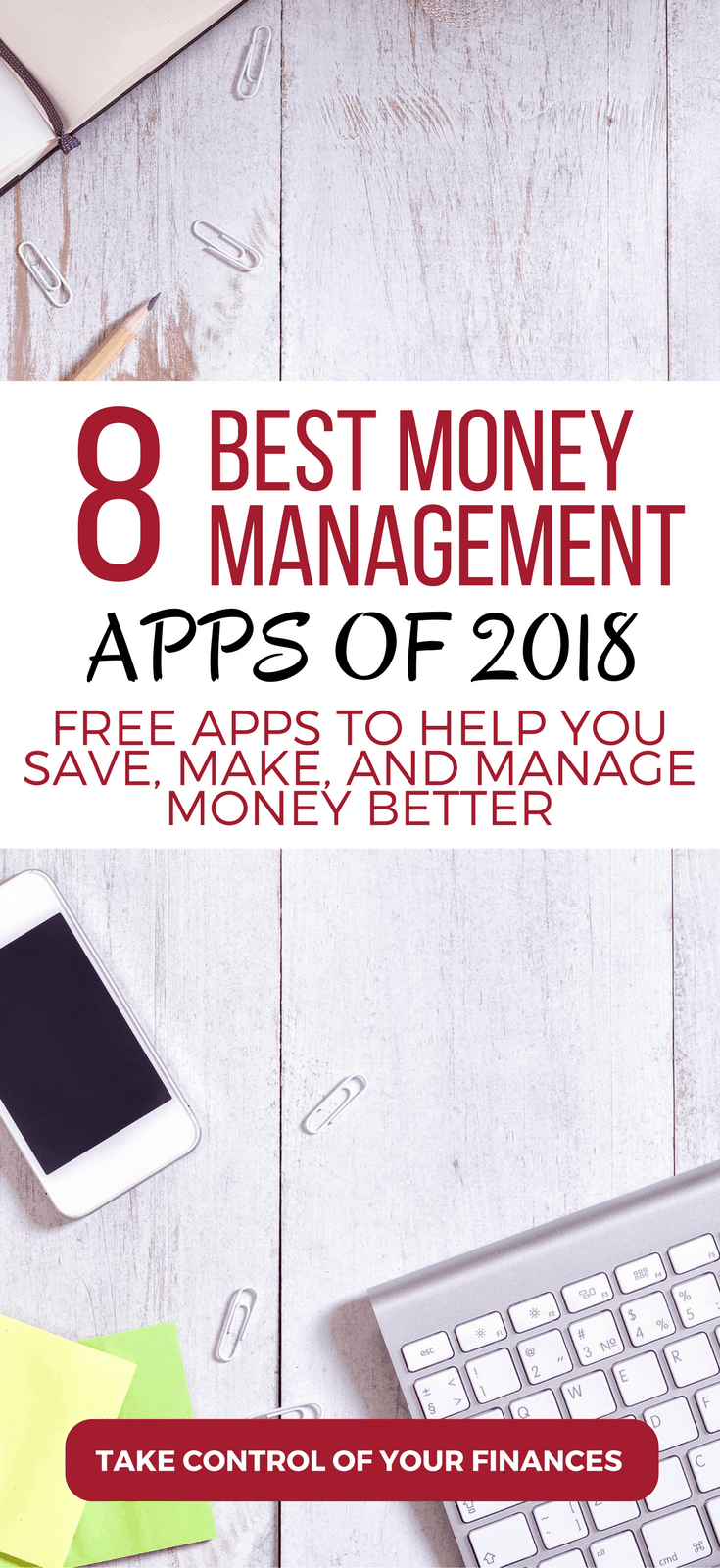 Looking for better ways to save and manage your money? These are the 8 best money management apps that will help you take control of your finances.money apps | budgeting apps | make money apps | save money apps | apps for saving money | grocery store apps | cash back apps#money #family #apps