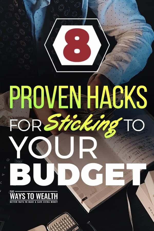 8 Proven Hacks For Sticking To Your Budget  budgeting for beginners | budgeting tips frugal living | stop spending money tips | smart with money how to be  #personalfinance #money #budget #budgeting #moneymanagement