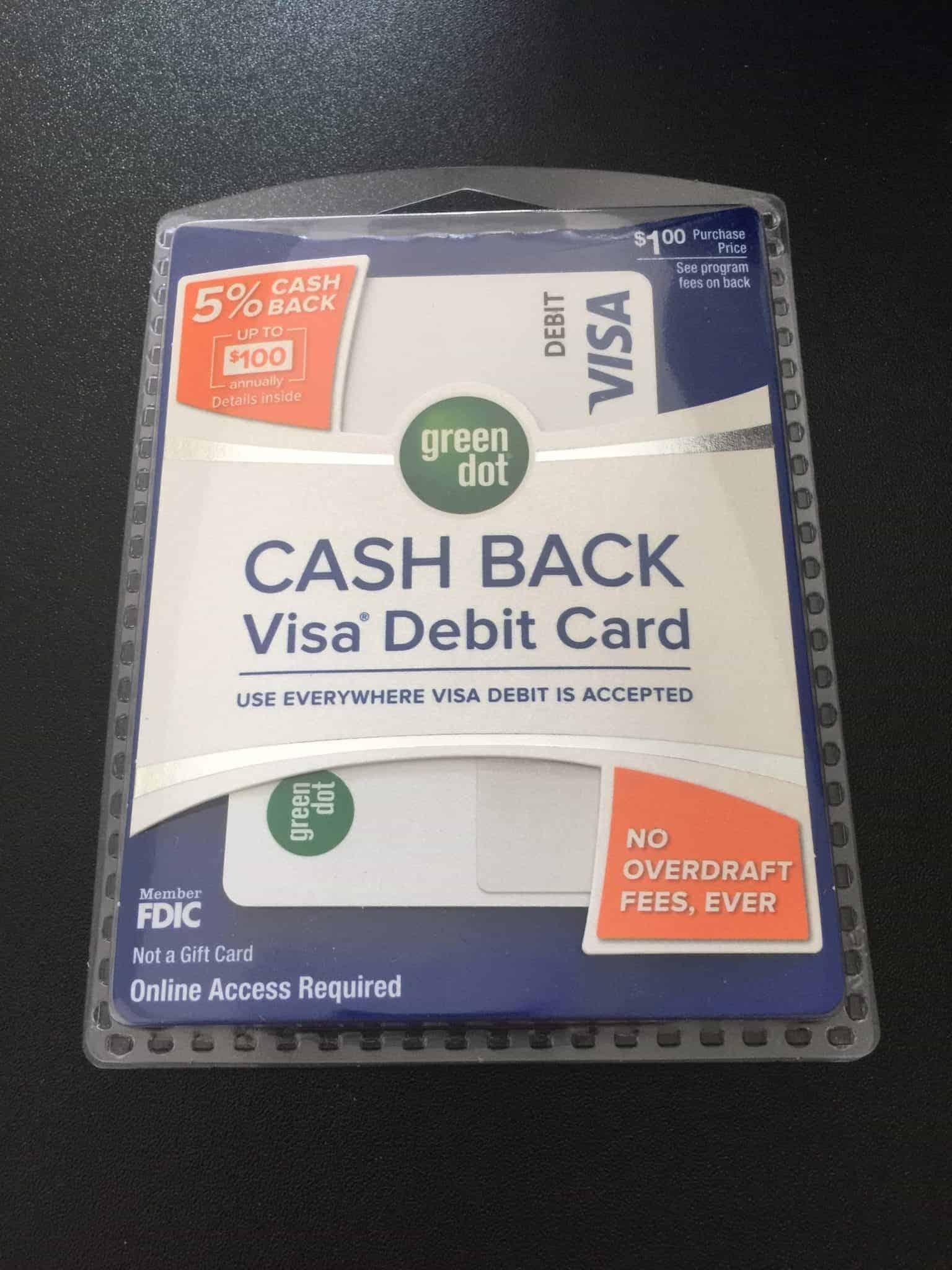 Green Dot Cash Back