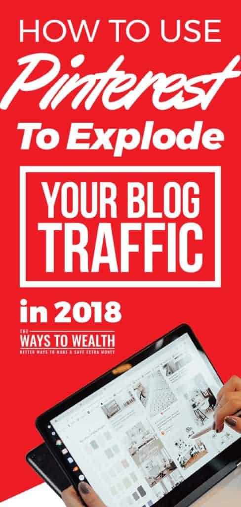 How To Use Pinterest To Explode Your Blog Traffic in 2018 blog traffic tips social media | pinterest marketing strategies | blog traffic pinterest #thewaystowealth #blog #blogging #traffic