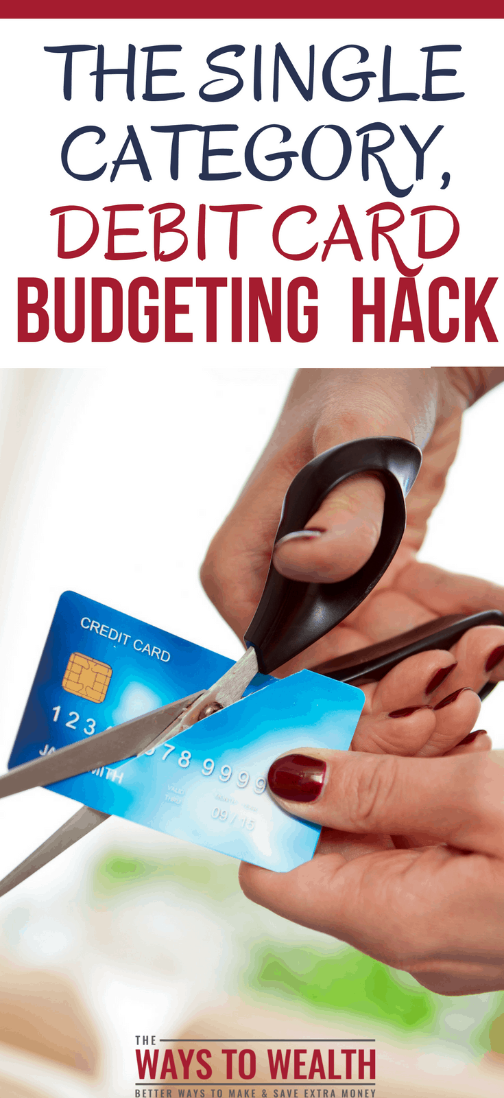 The Single Category, Debit Card Budgeting HackTry the single category, budgeting hack to lower your monthly expenses.  A sponsored post written by me on behalf of Green Dot #sponsoredpost