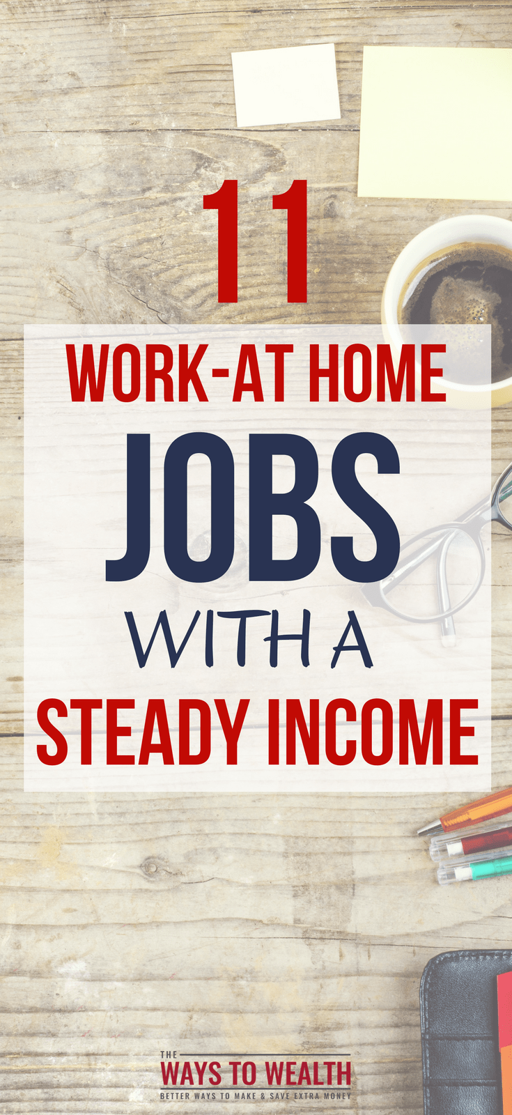 11 work at home jobs with a steady income
