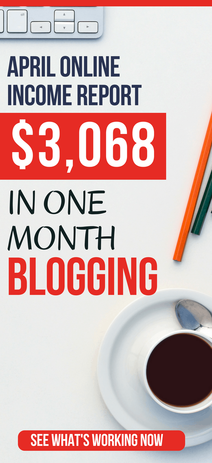 April 2018 Blog Income Report: How I Made $3,068 Blogging  Discover how I made $3,068 blogging in April 2018. Get the breakdown of revenue, expenses, and learn how my top source of traffic.   income report | income report 2018 | income reports blogging | blog income reports posts | how to make money blogging | pro blogger tips | make money blog   #thewaystowealth #blog #blogging #makemoneyonline #makemoney