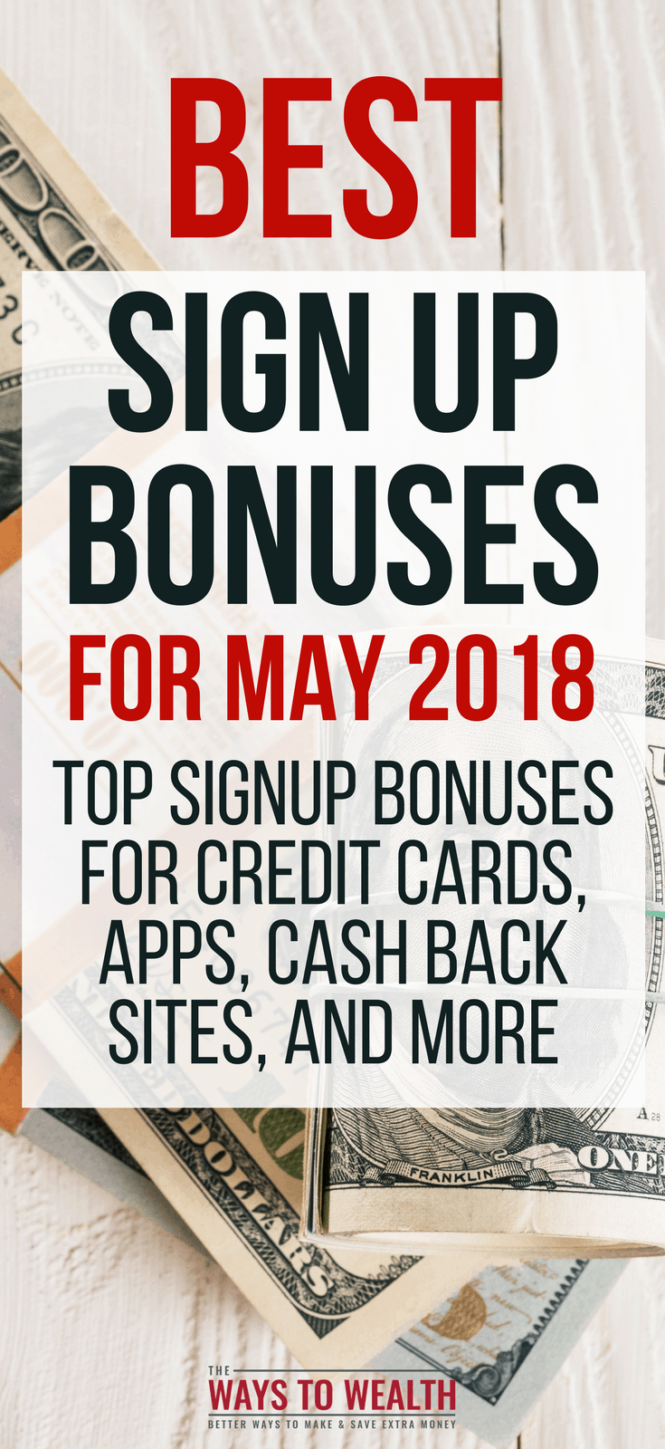 Best Free Money Hacks & Bonus Offers of May 2018 free money hacks tips | money making apps best | best credit cards for travel | top credit cards rewards | quick ways to make money fast #thewaystowealth #sidehustle #credit #hacks