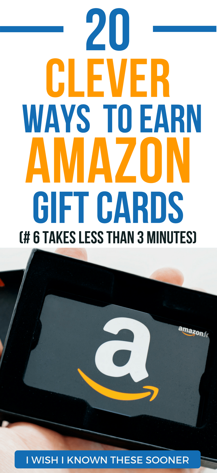 The 20 Best Ways To Earn Free Amazon Gift Cards in 2018 amazon gift card free | save money on amazon tips | free gift cards how to get | referral program | amazon hacks free stuff #thewaystowealth #amazon #giftcards