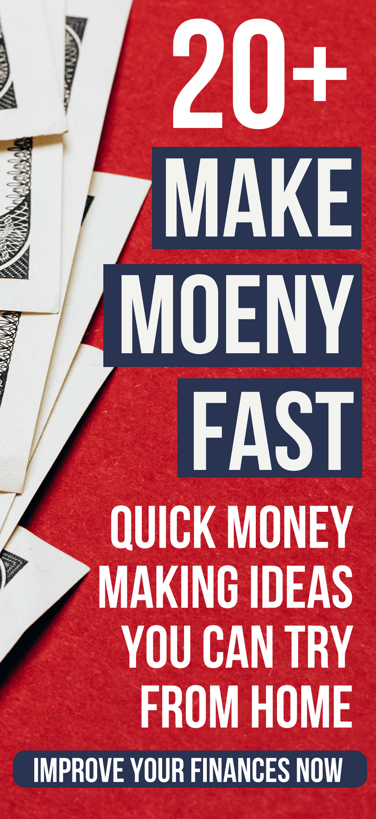 24+ Safe, Creative, & Fast Ways To Get Money Fast Need money fast? Here's more than 20 safe and creative ways to get money in a hurry. #thewaystowealth #makemoneyfast #makemoney #makemoneyonline