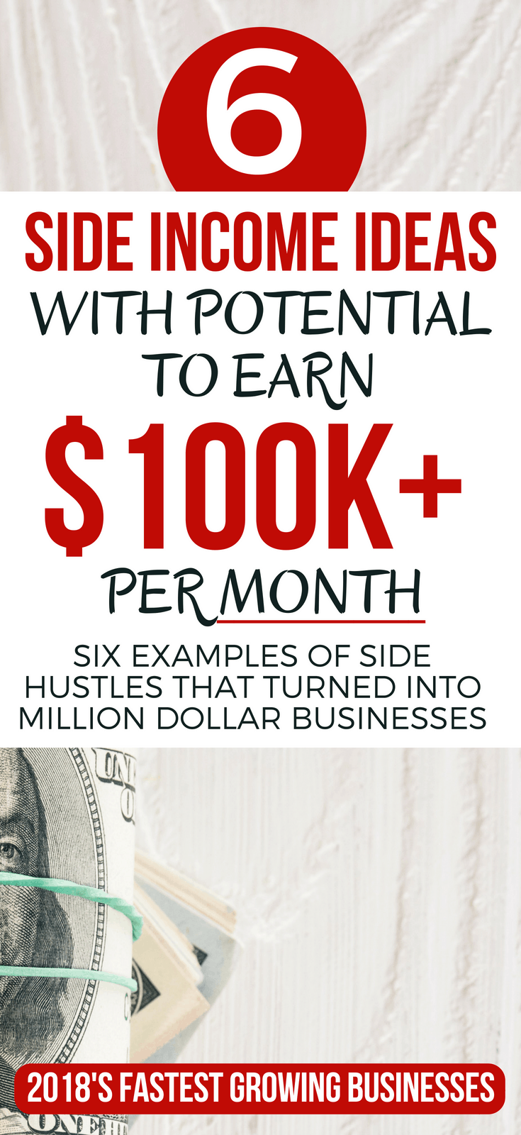 6 Side Income Ideas With Potential To Generate $100K A Month side income ideas business | side hustle ideas at home | #thewaystoweaht #sidehustles #extramoney