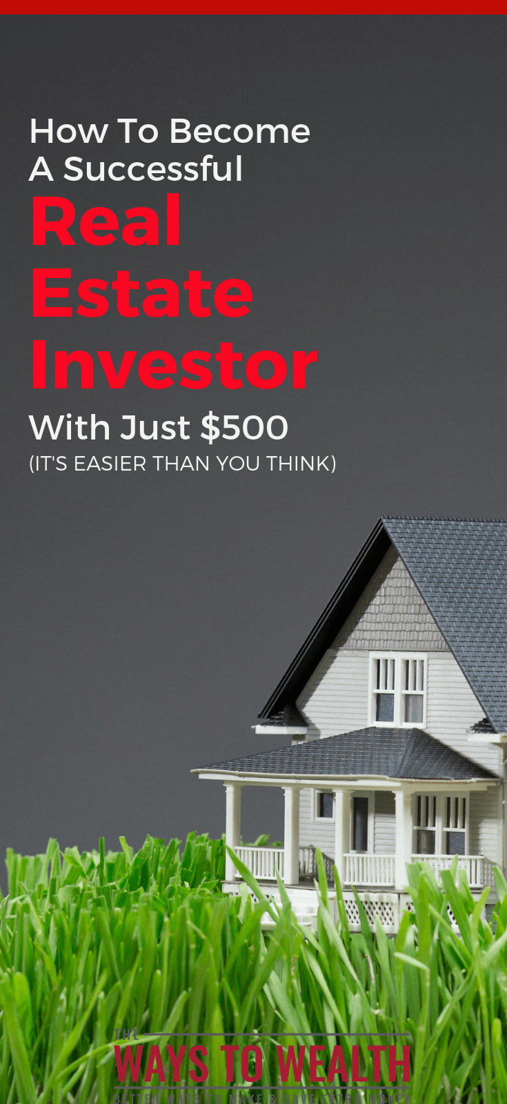 How To Become A Successful Real Estate Investor With Just $500 get started investing | beginner real estate investing | ways to invest in real estate | real estate investing strategies | commercial real estate investing #thewaystowealth #invest #investing #passiveincome