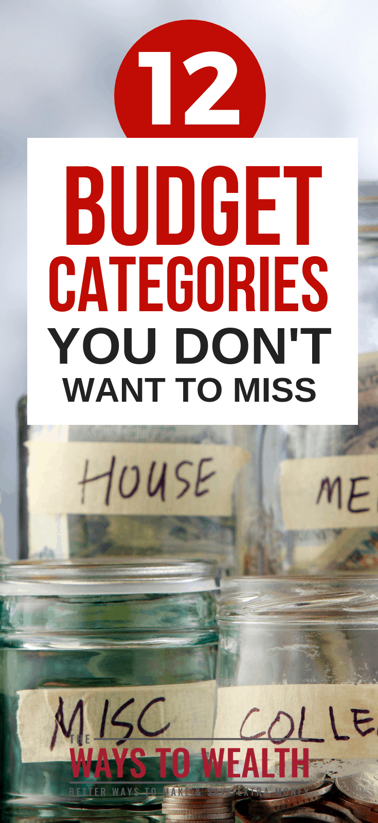 12 Personal Budget Categories You Don't Want To Misshow to start a budget for beginners | starting a budget simple | save money budget ideas#thewaystowealth #budget #budgeting #moneymanagement