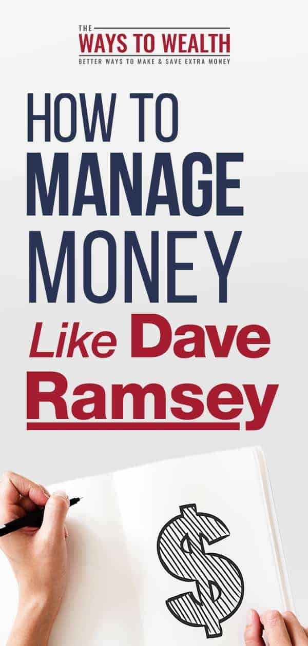 Discover how to manage your money and budget like Dave Ramsey. This guide to Dave Ramsey's Allocated spending plan tells you step-by-step how to budget, categorize your expenses, and get your spending under control. #budgeting