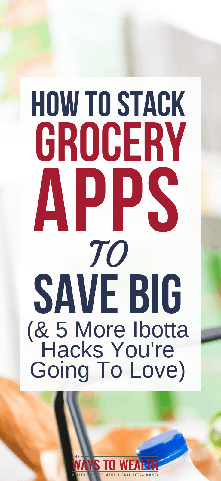 Discover how to use money saving grocery apps, like Ibotta, to reduce your food spending fast. Then, learn how to save even more by combining Ibotta with other popular money savings apps.