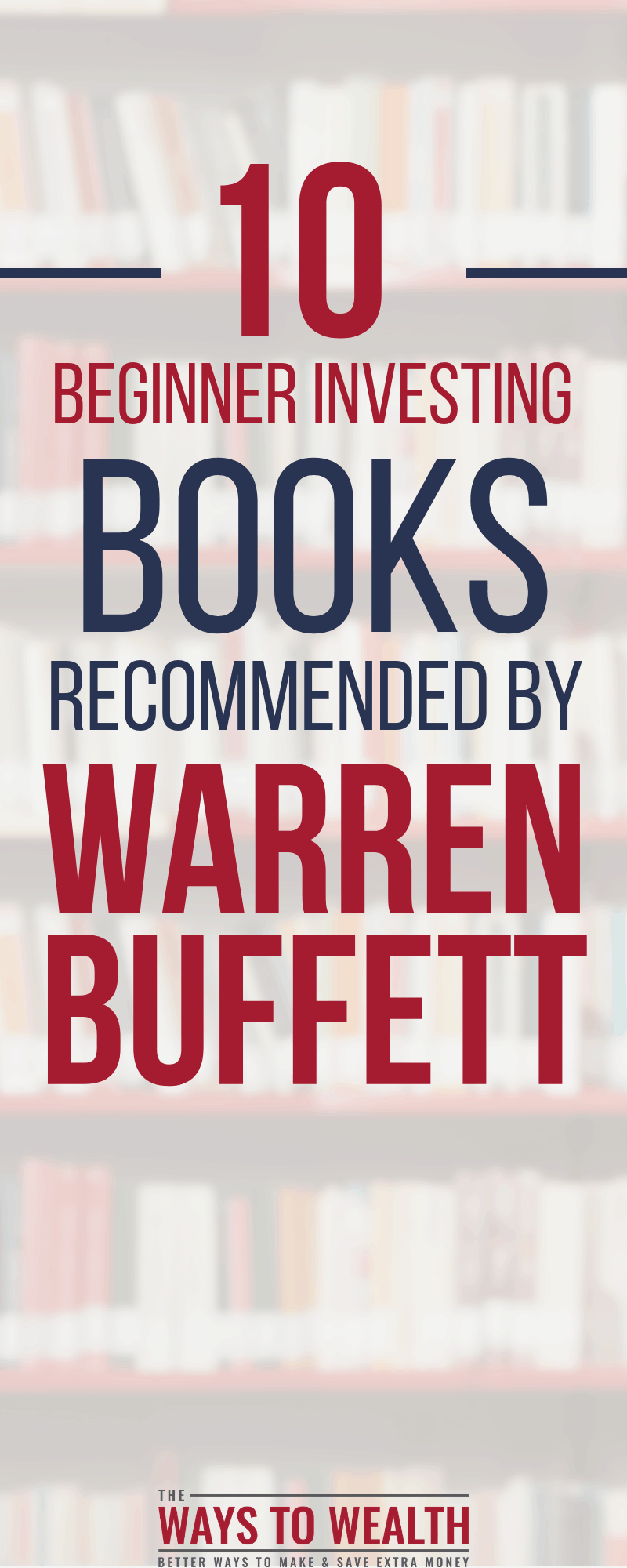The complete list of Warren Buffett's favorite investing books. Discover the best investing books for beginners to advanced investors, from the greatest investor of all time.#investing #reading #moneymanagement #warrenbuffett