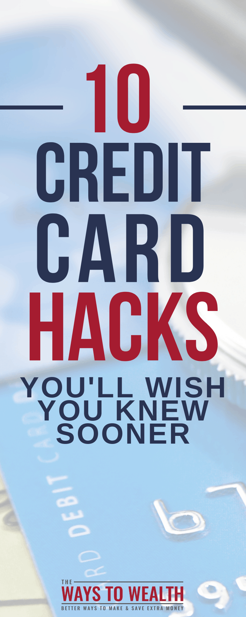 10 credit cards hacks you'll wish you knew sooner. Plus, learn how credit cards work: pros, cons, tips to maximizing credit card rewards. And is Dave Ramsey right about credit cards?#daveramsey #debt #creditcards #credit