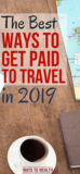 Pinterest: How To Get Paid To Travel The World