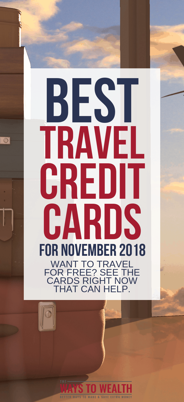See the best credit cards for travel all in one place. Broken down into the Best Overall Travel Credit Cards, Best Travel Credit Cards for Beginners, Best Business Travel Cards, Best Cards for International Travel, Best Airline Cards, Best Hotel Credit Cards, Best Travel Credit Cards With N0-Annual Fee, & The Ultimate Cash Back Credit Card Hack.#travel #budgettravel #travelhacking