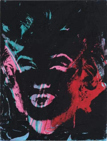 "Andy Warhol's ""1 Colored Marilyn"""