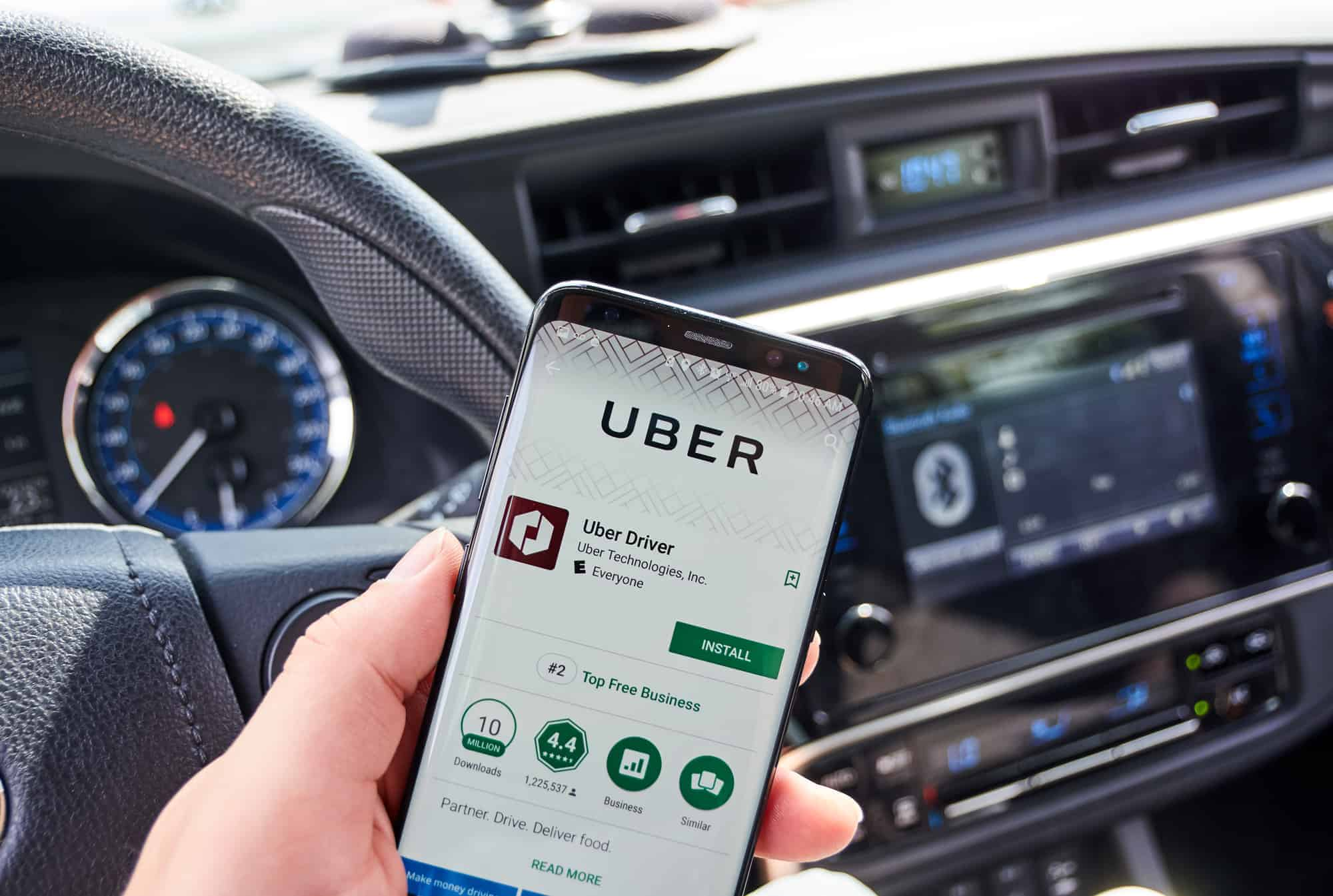 Make money driving with Uber