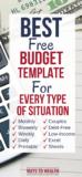 PIN: Best Budget Template