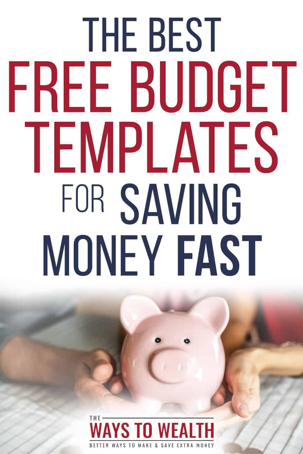 Pinterest: The Best Free Budget Templates For Saving Money Fast