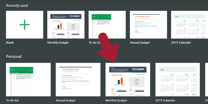 best free personal budget templates for every type of financial goal